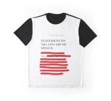 Melania Plagiarism Graphic T-Shirt