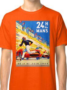 """""""MANS"""" 24 Hour Grand Prix Auto Race Classic T-Shirt"""