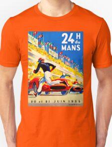"""""""MANS"""" 24 Hour Grand Prix Auto Race Unisex T-Shirt"""
