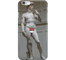 Poké ball David iPhone Case/Skin