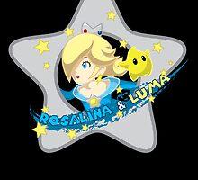 Rosalina & Luma by Kiro13