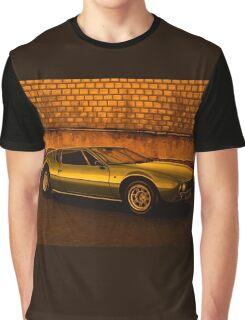 Tomaso Mangusta Mixed Media Graphic T-Shirt