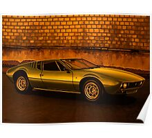 Tomaso Mangusta Mixed Media Poster