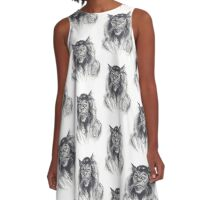 Michael Jackson Thriller Werewolf A-Line Dress