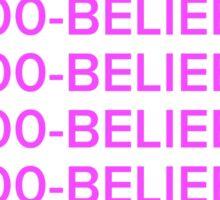Justin bieber 1-800-BELIEBER  Sticker