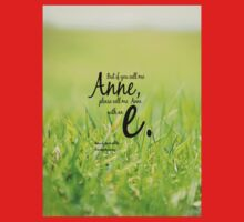 Anne with an E One Piece - Short Sleeve