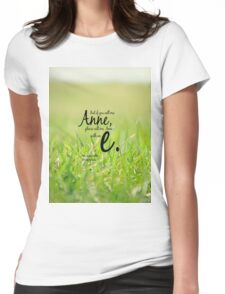 Anne with an E Womens Fitted T-Shirt