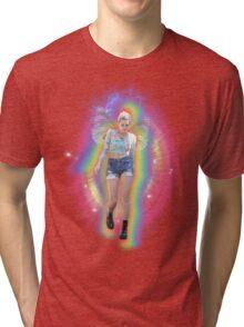 Fairy Miley Aura Rainbow Tri-blend T-Shirt