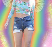 Fairy Miley Aura Rainbow Sticker