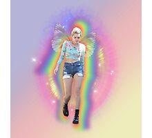 Fairy Miley Aura Rainbow Photographic Print