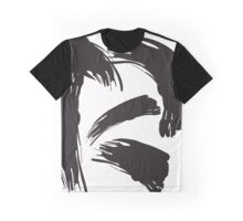 Untitled Abstract Black Graphic T-Shirt