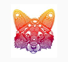 Rainbow Tribal Fox Unisex T-Shirt