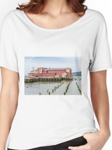 Cannery Pier Hotel  Women's Relaxed Fit T-Shirt