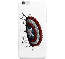 Cap. America Shield (Color) iPhone Case/Skin