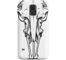 RAMS SKULL (NO HORNS) Samsung Galaxy Case/Skin