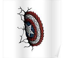 Cap. America Shield (Color) Poster