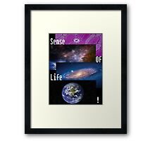 Sense Of Life! (White) Framed Print