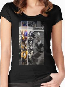 Bumblebee - Transformers Women's Fitted Scoop T-Shirt