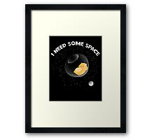 Hamster I Need Some Space Framed Print