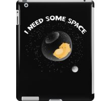 Hamster I Need Some Space iPad Case/Skin