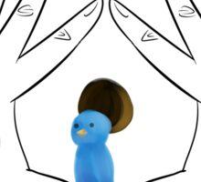 birdhouse in your soul Sticker