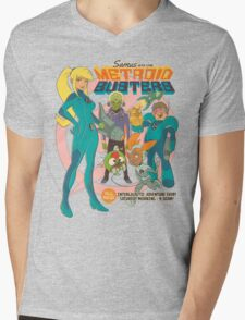 Samus and the Metroid Busters Mens V-Neck T-Shirt