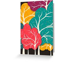 Happy Forest Greeting Card