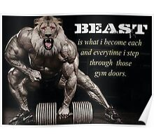 Beast Is What I Become Poster