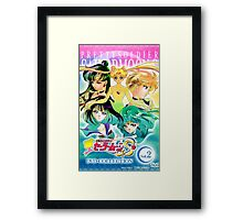 Sailor Moon and Outer Senshi Framed Print