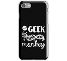 Geek Monkey Cosima Tv Show iPhone Case/Skin