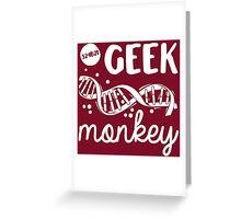 Geek Monkey Cosima Tv Show Greeting Card