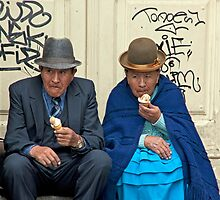 Nobody Doesn't Like Ice Cream!! by phil decocco