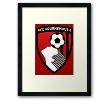 afc bournemouth Framed Print