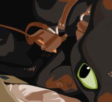 How to Train Your Targaryen Dragon Sticker