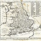 c1810 Map of England And Wales by toolemera