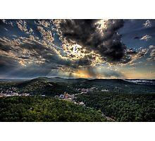 Hot Springs Arkansas Photographic Print