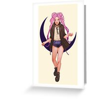 Modern fashion sailor Greeting Card