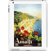 Vintage Amalji Italy iPad Case/Skin