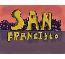 San Francisco Postcard Photographic Print