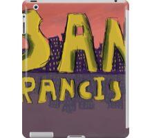 San Francisco Postcard iPad Case/Skin