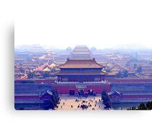 Forbidden city complex in Beijing, China Canvas Print