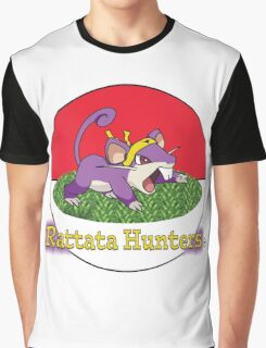 Rattata Hunters Graphic T-Shirt