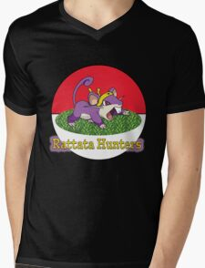 Rattata Hunters Mens V-Neck T-Shirt