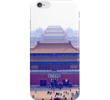 Forbidden city complex in Beijing, China iPhone Case/Skin