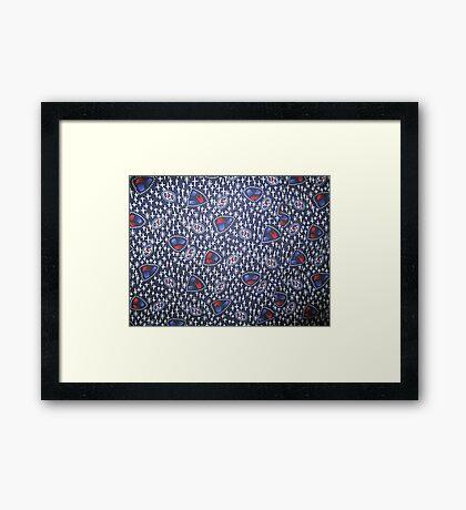 Genius in simplicity Framed Print