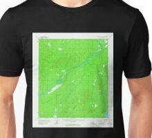 USGS TOPO Map Alaska AK Mount McKinley D-6 357814 1958 63360 Unisex T-Shirt