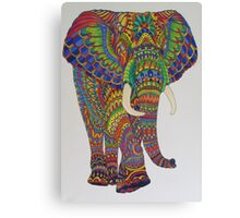 Elephatastic Canvas Print