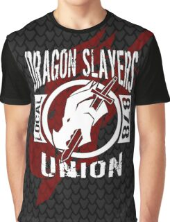 Dragon Slayers Union Scaled Graphic T-Shirt