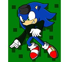 Clever Sonic Photographic Print