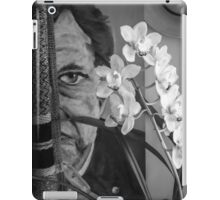 The Man behind the scarf iPad Case/Skin